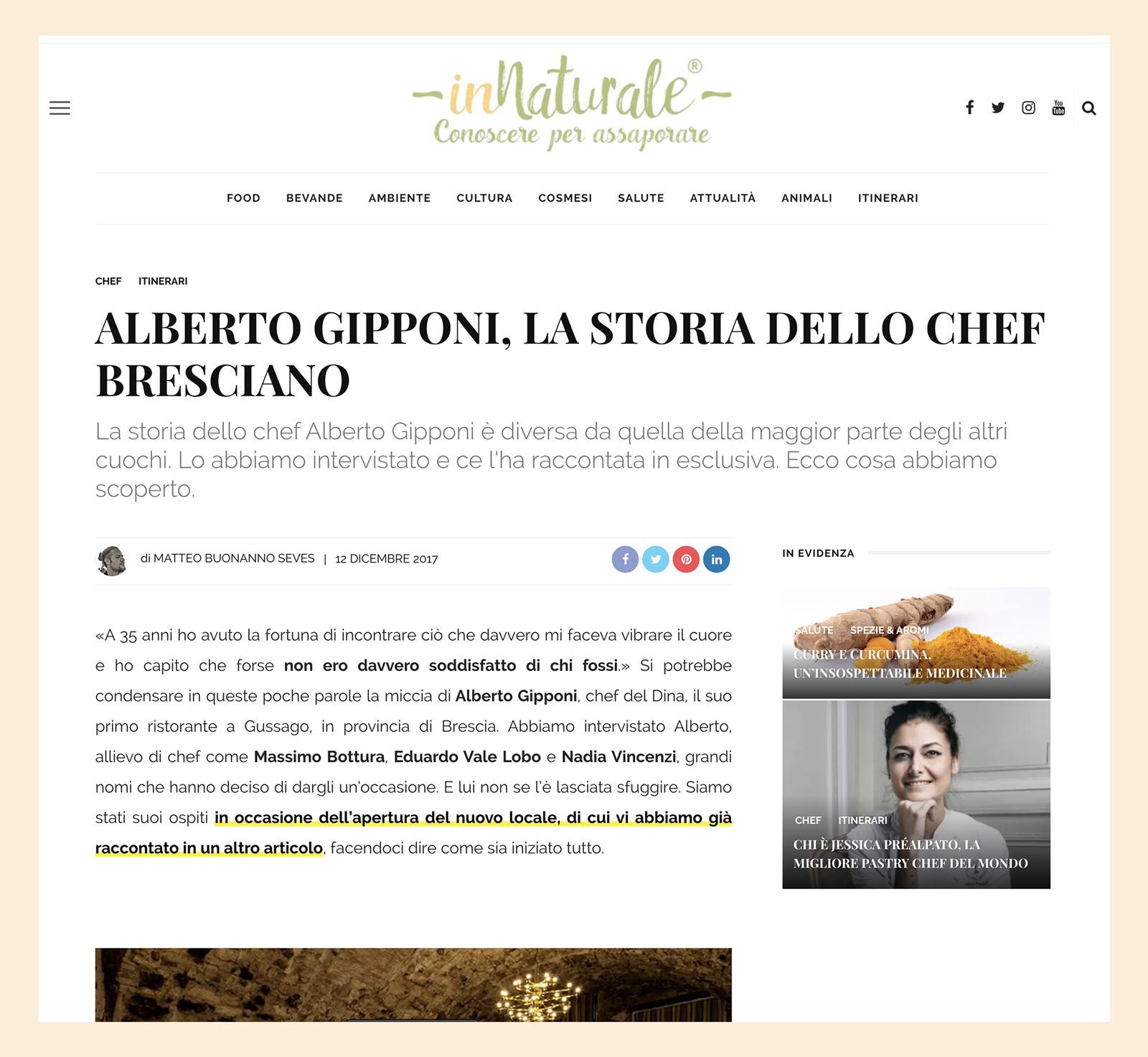 Alberto Gipponi - Innaturale 2017
