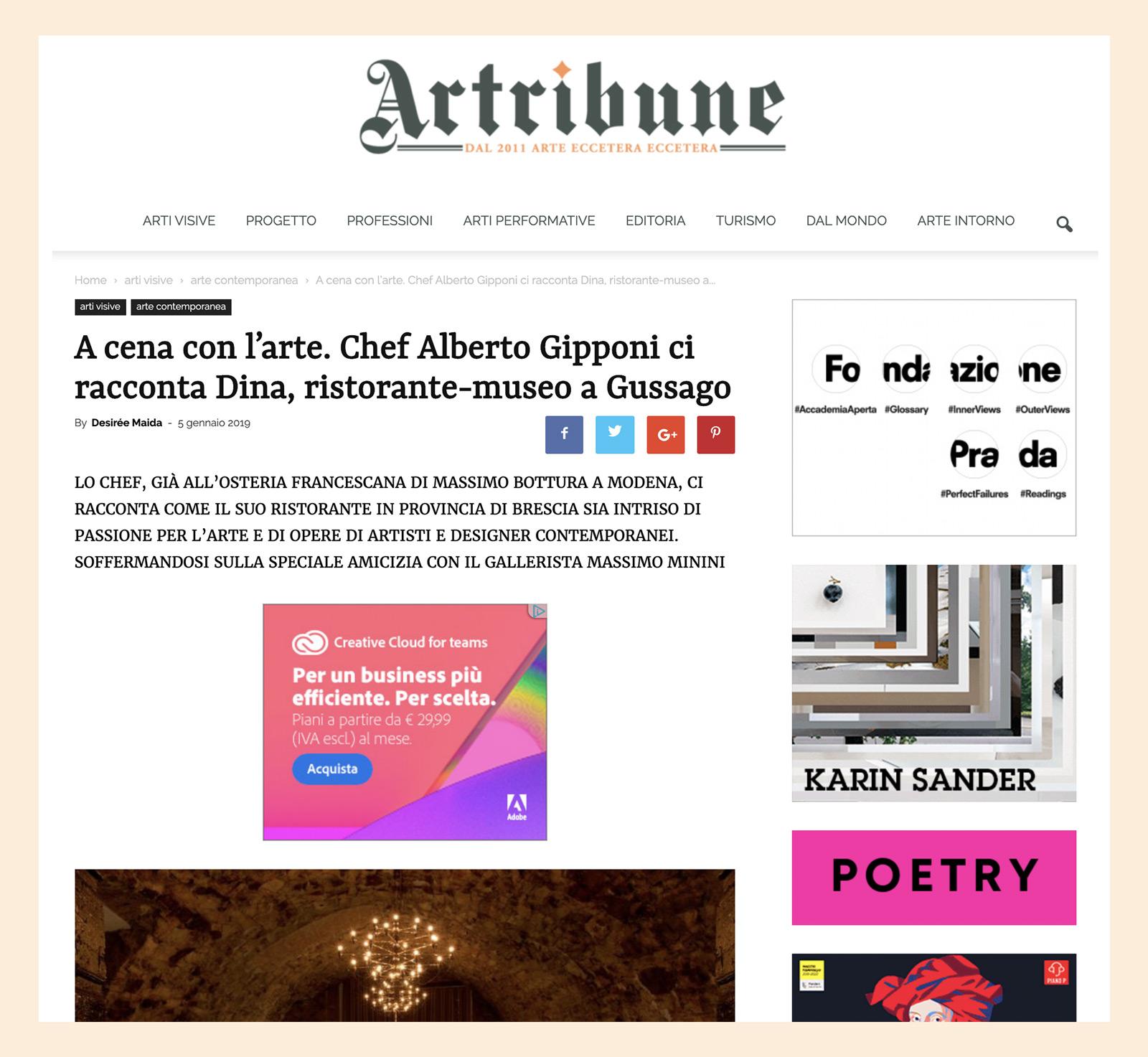 Alberto Gipponi - Artibune 2019