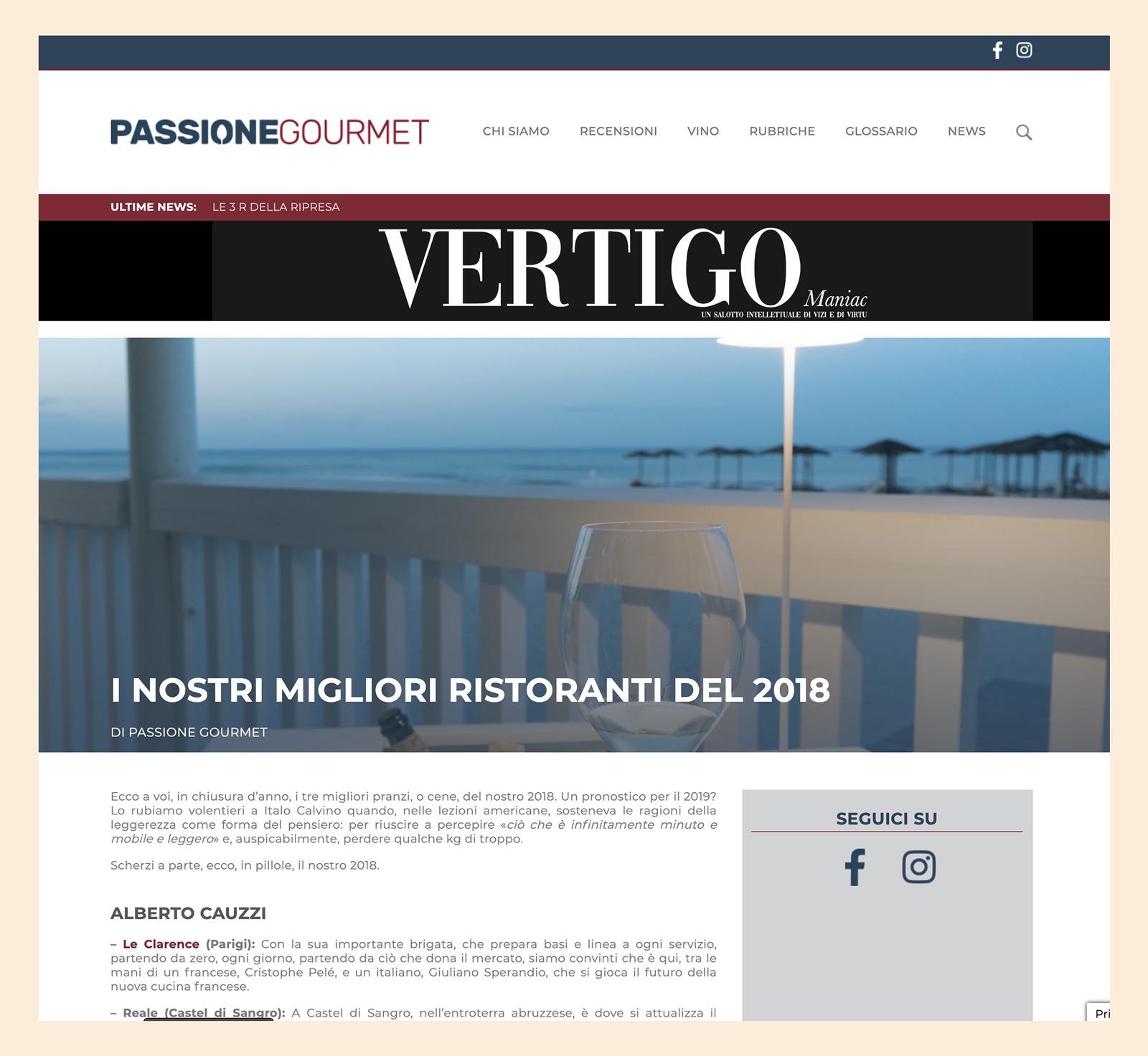 Alberto Gipponi - Passionegourmet 2018