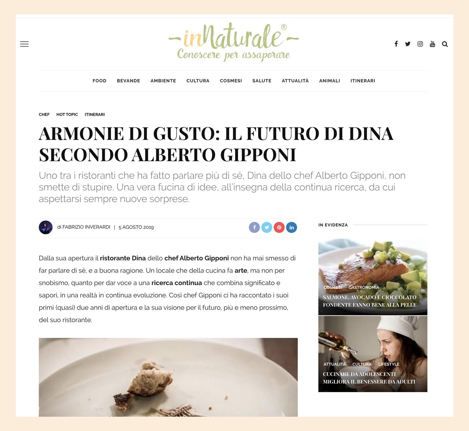 Alberto Gipponi - Innaturale 2019